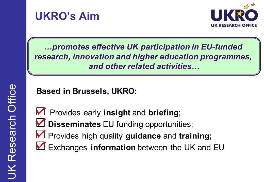 UKRO's Aim UK Research Office