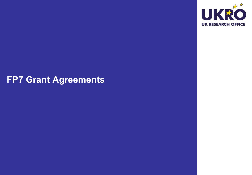 FP7 Grant Agreements