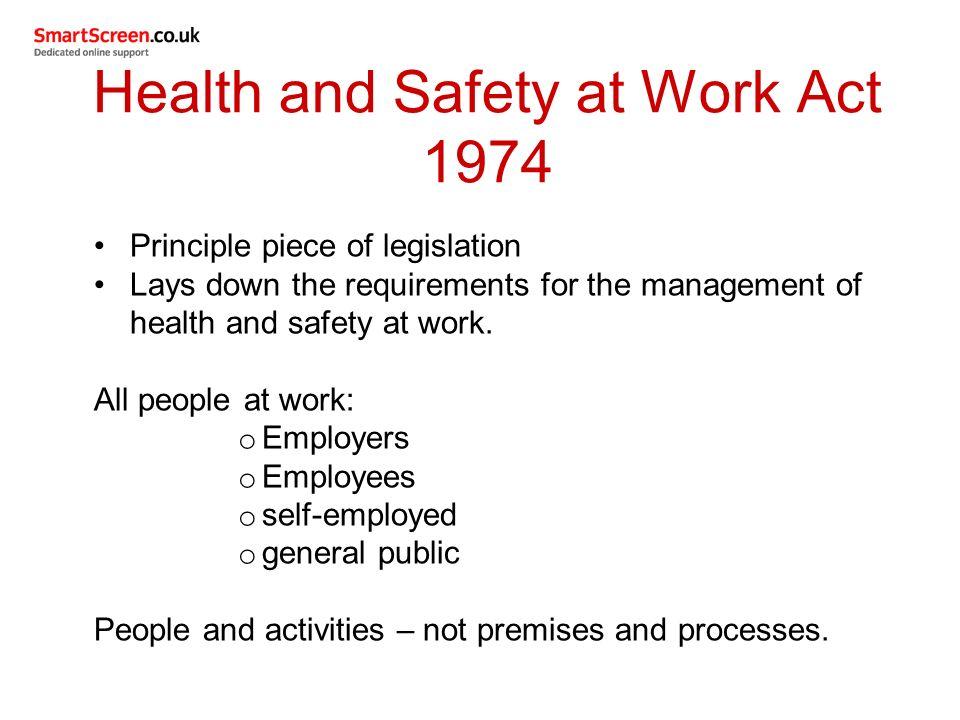 Safety and Health Management System