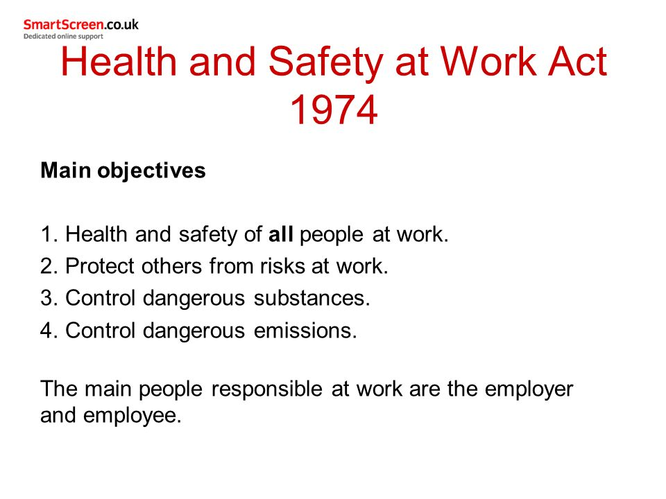 unit 8 health and safety legislation Og 00073 - appendix 1: health and safety (enforcing authority) regulations 1998: a-z guide to allocation.