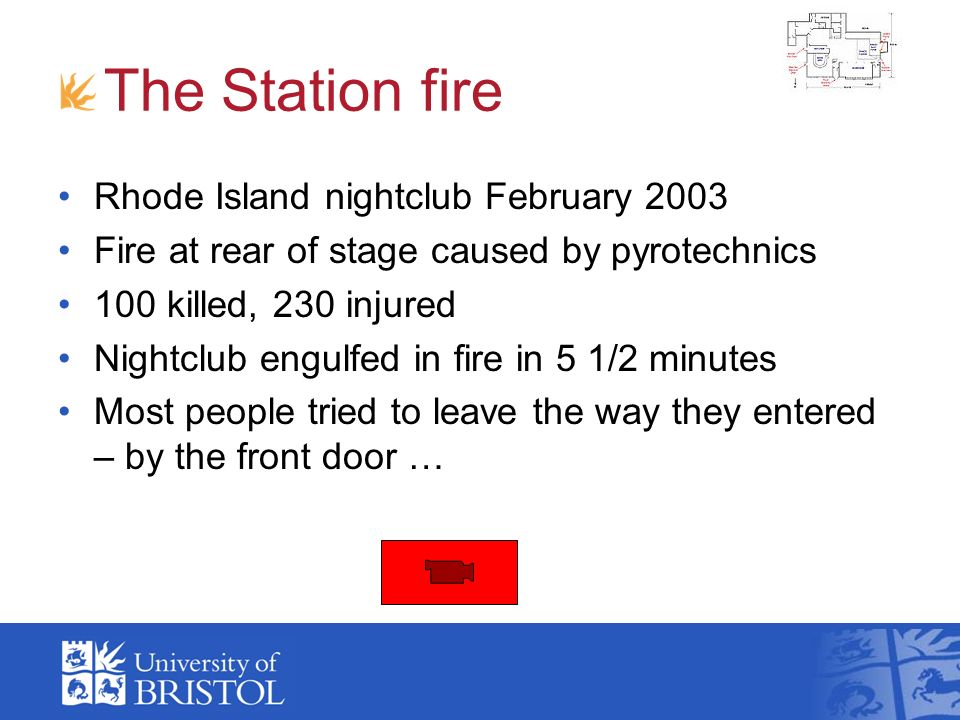 The Station fire Rhode Island nightclub February 2003