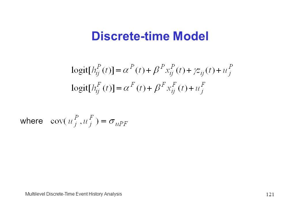 Discrete-time Model where