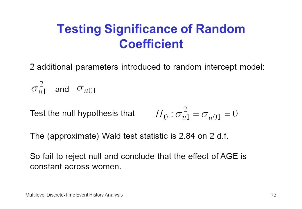 Testing Significance of Random Coefficient