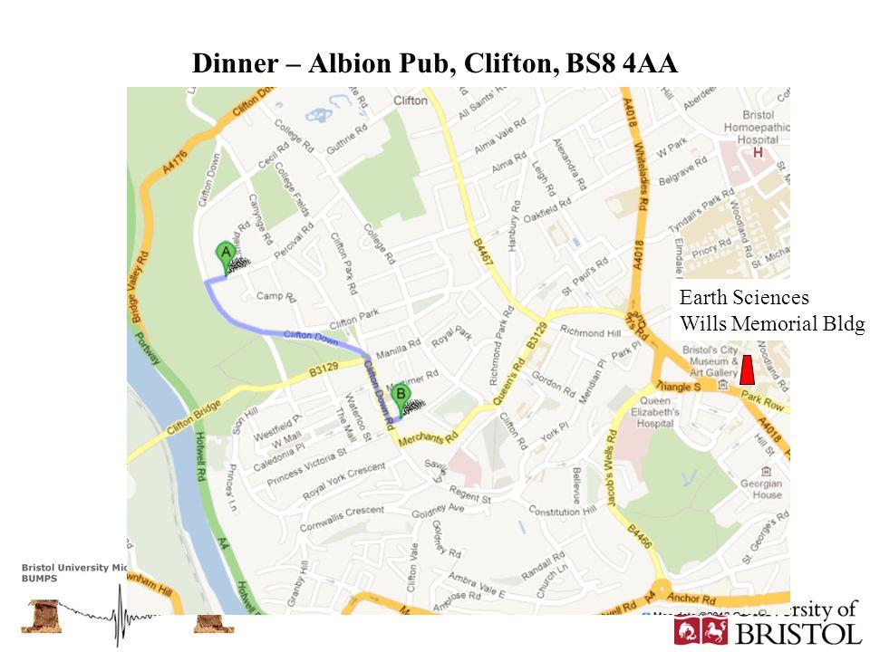Dinner – Albion Pub, Clifton, BS8 4AA
