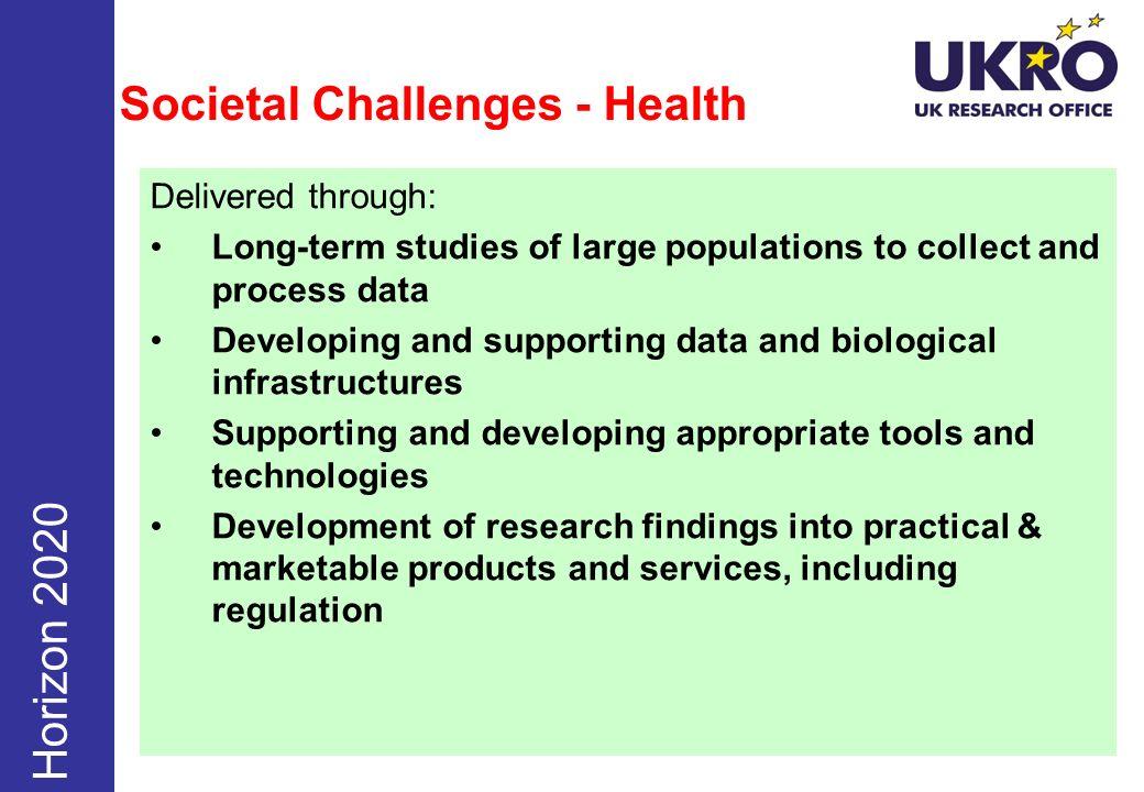 Societal Challenges - Health