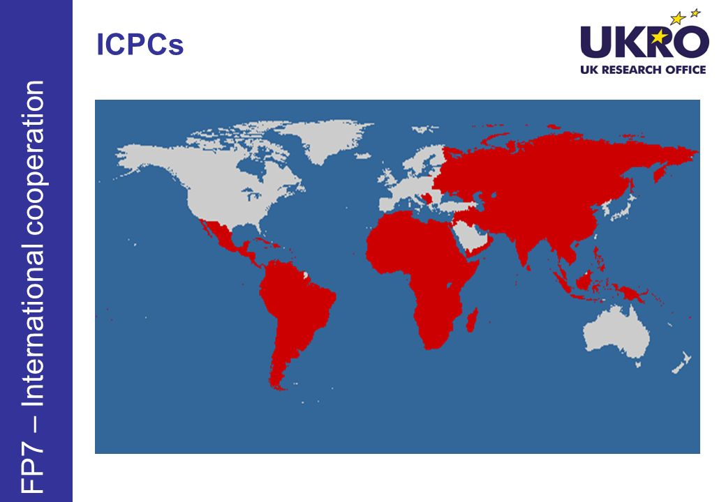 ICPCs FP7 – International cooperation