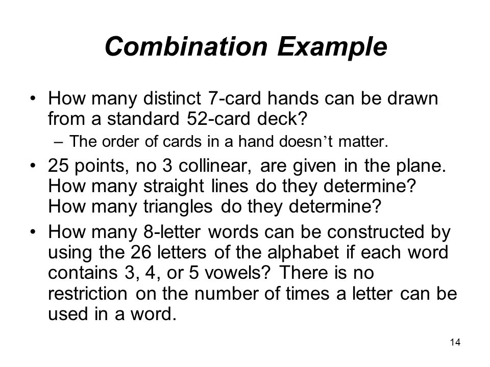 Chapter 3 Permutations And Combinations