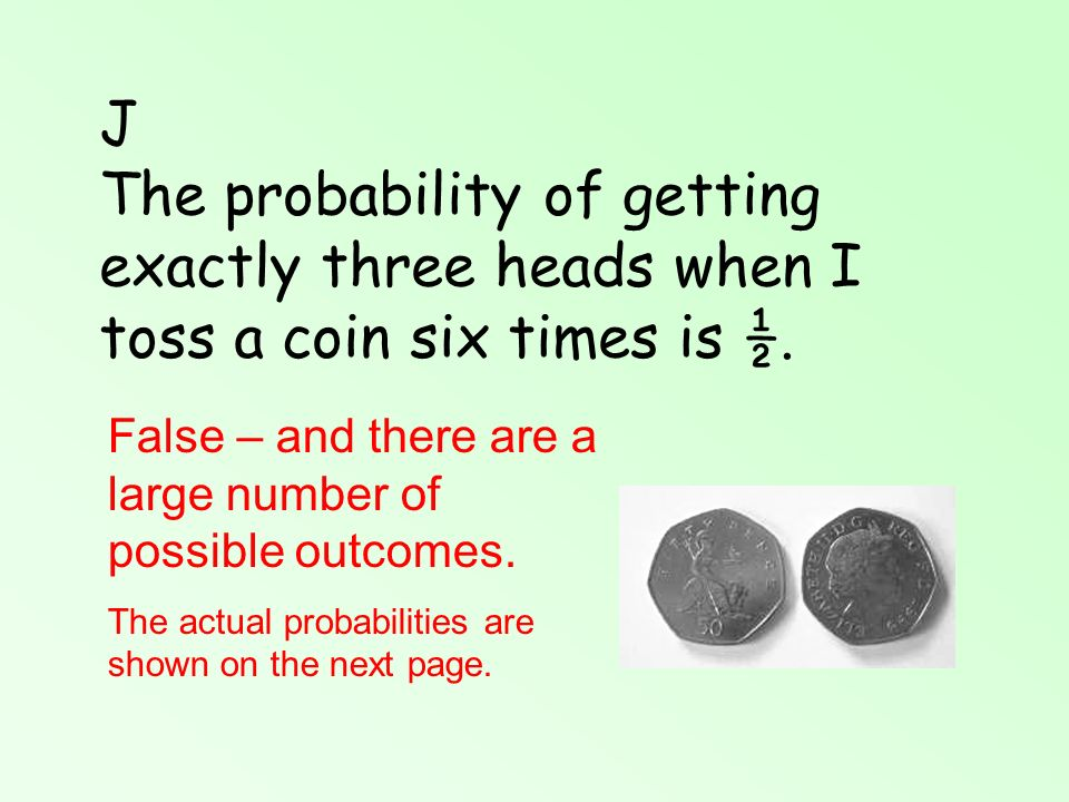 Flip a coin 3 times probability of 3 heads - Catalase diagram