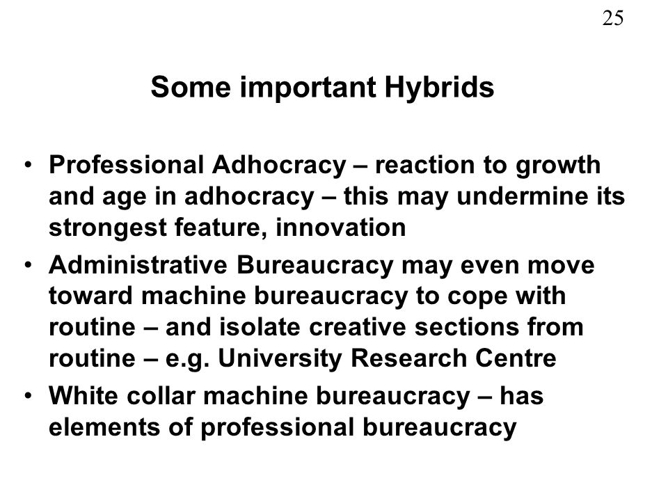 Some important Hybrids