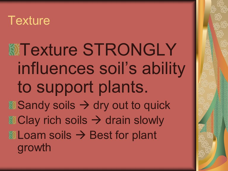 An important product of weathering ppt video online for Soil support