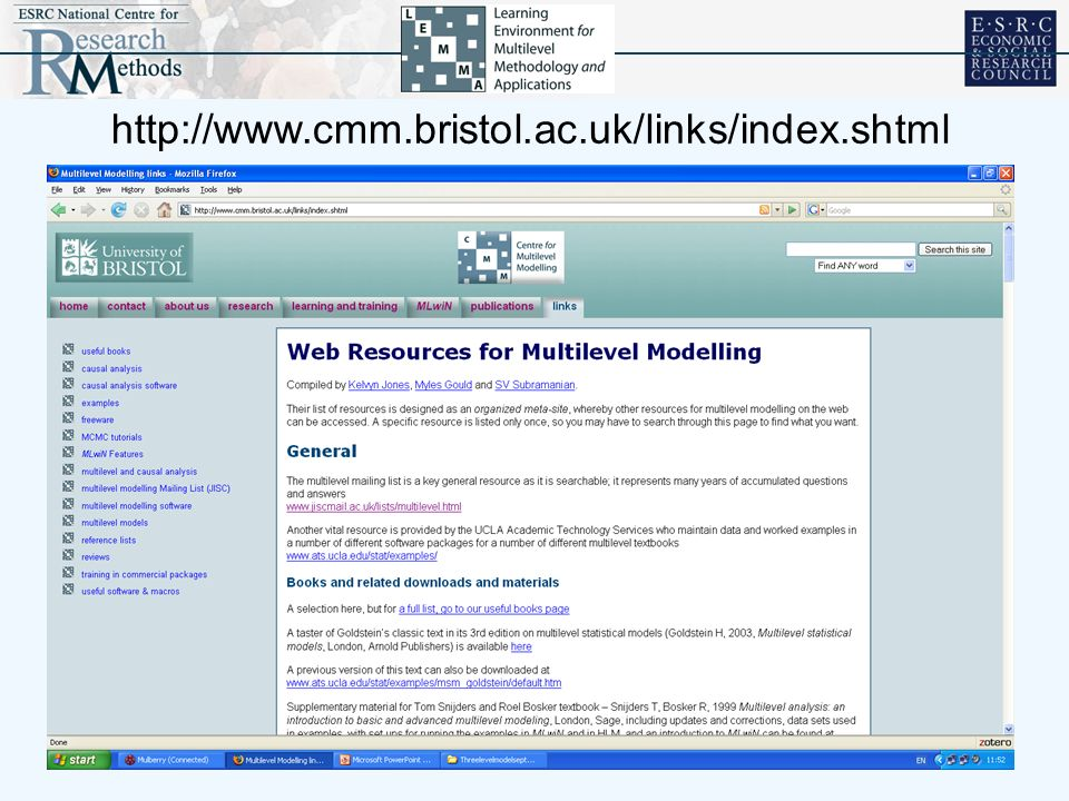 http://www.cmm.bristol.ac.uk/links/index.shtml