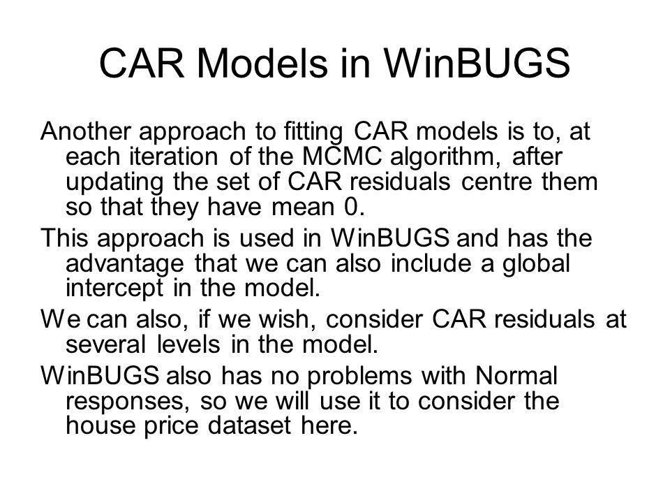 CAR Models in WinBUGS