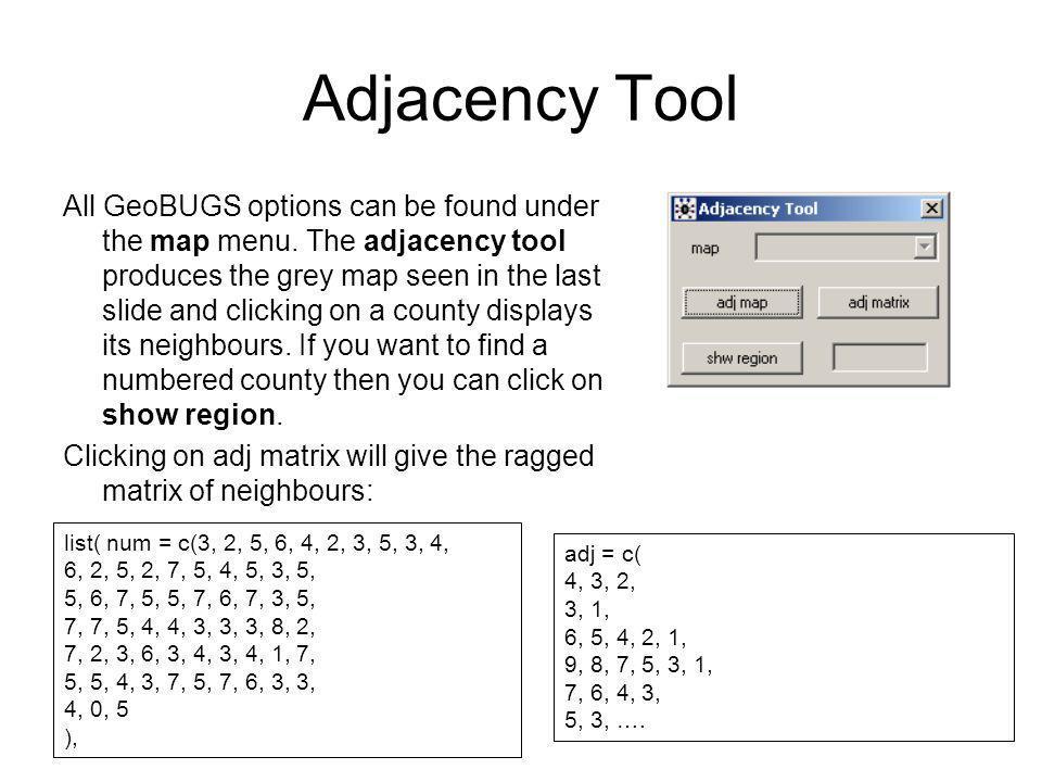Adjacency Tool