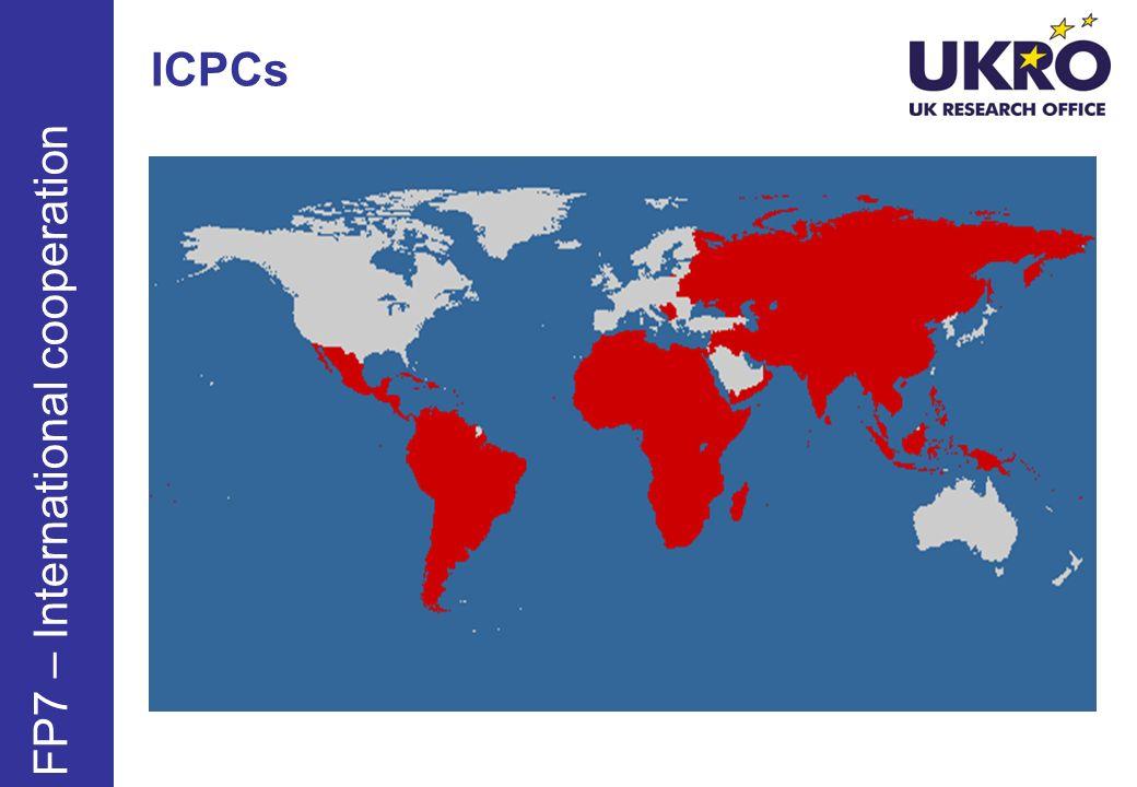 ICPCs FP7 – International cooperation