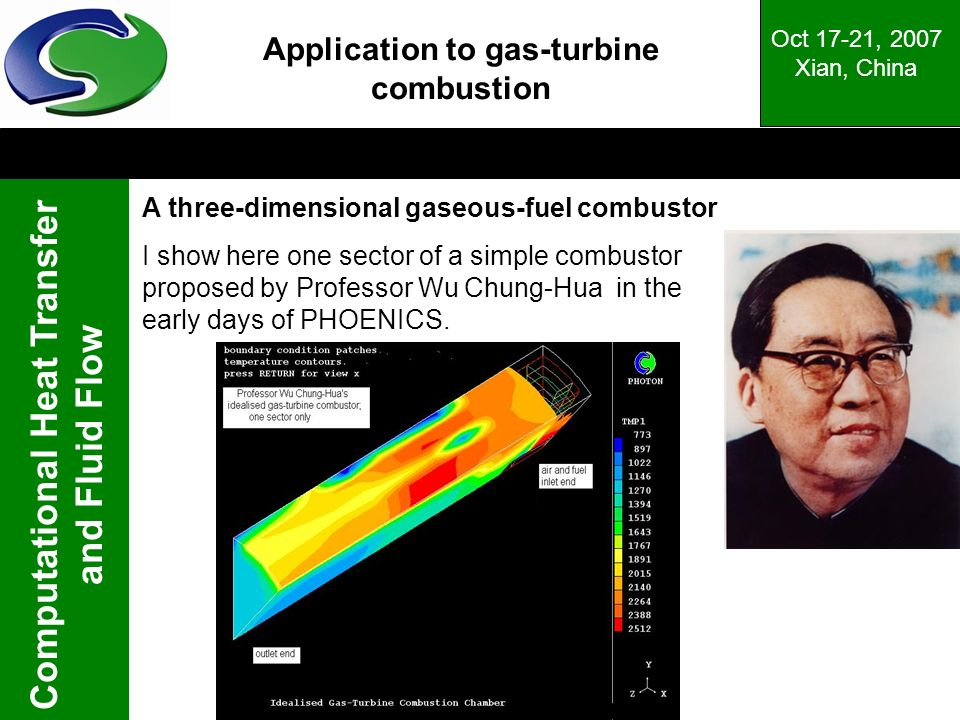 Application to gas-turbine combustion