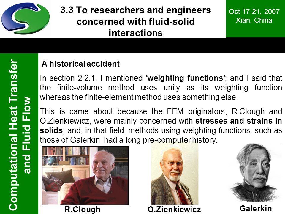 3.3 To researchers and engineers concerned with fluid-solid interactions