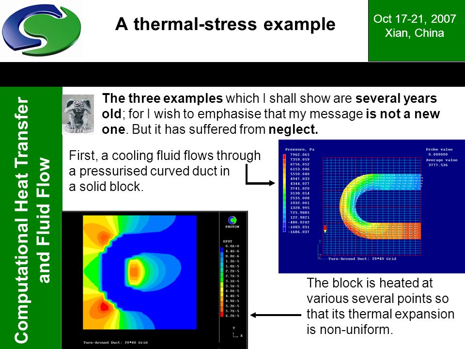 A thermal-stress example