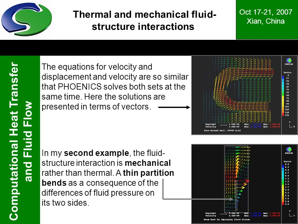 Thermal and mechanical fluid-structure interactions