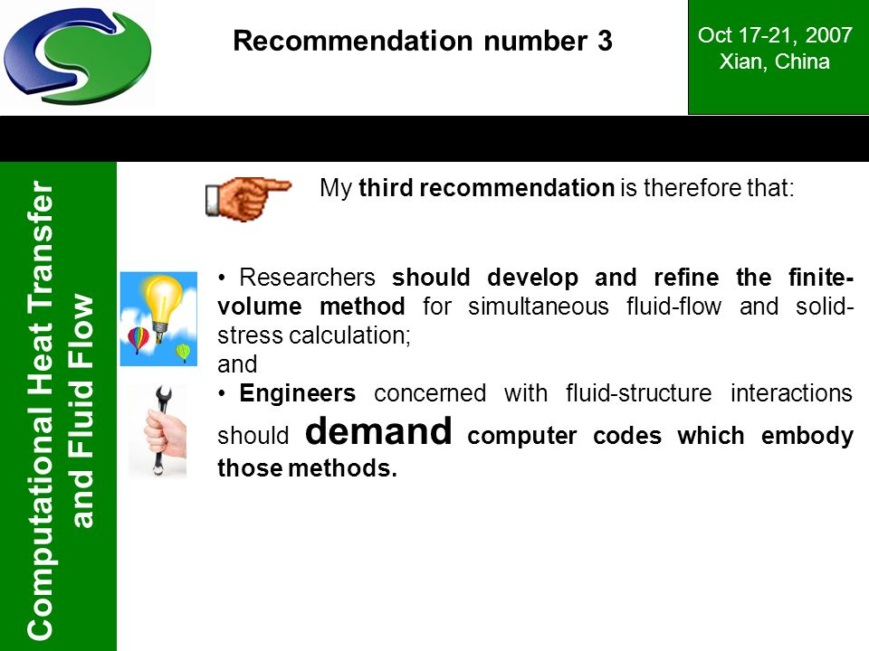 Recommendation number 3