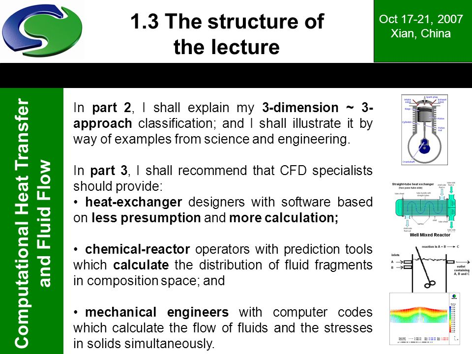 1.3 The structure of the lecture