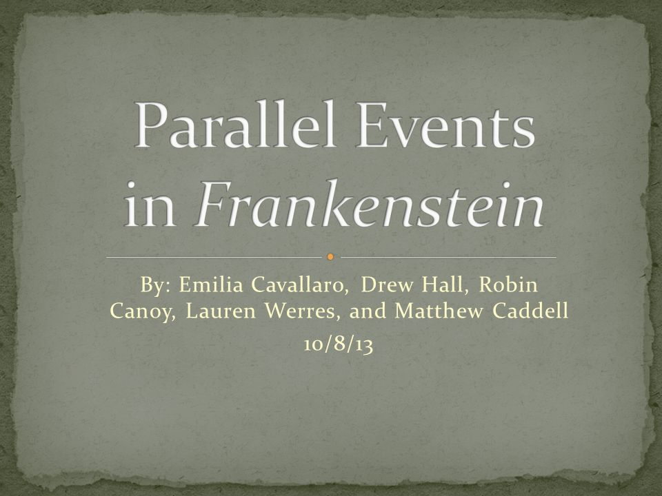theme of loneliness in frankenstein
