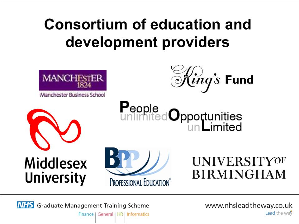 Consortium of education and development providers