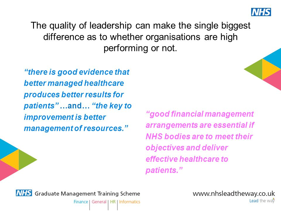 The quality of leadership can make the single biggest difference as to whether organisations are high performing or not.
