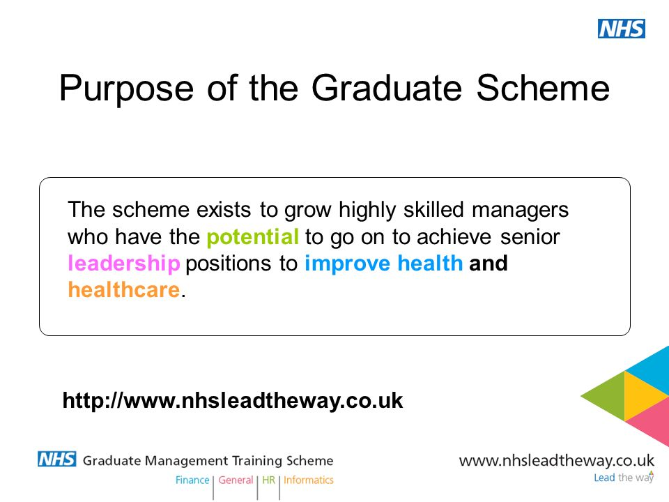 Purpose of the Graduate Scheme