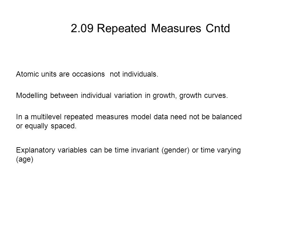 2.09 Repeated Measures Cntd