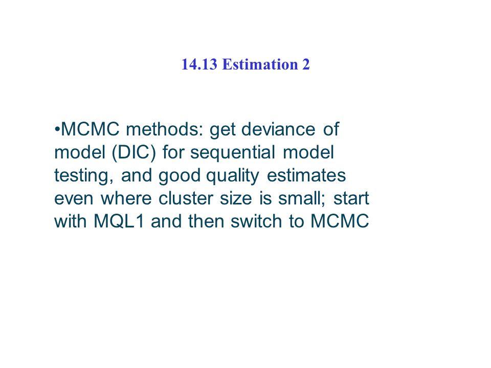 14.13 Estimation 2