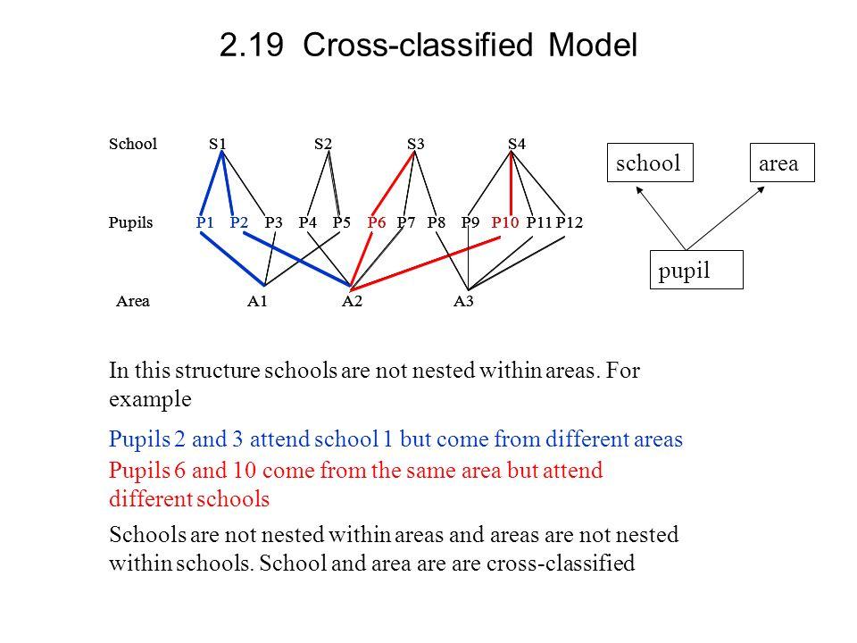 2.19 Cross-classified Model