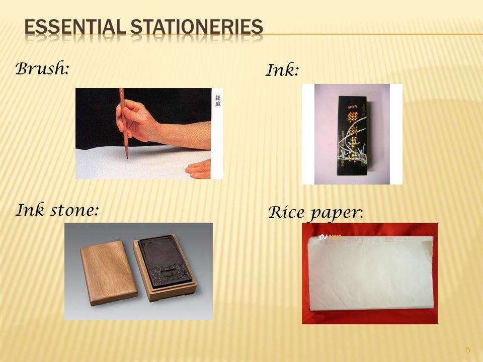 Essential Stationeries