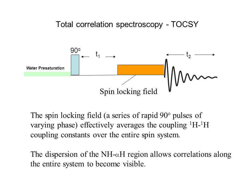 Total correlation spectroscopy - TOCSY