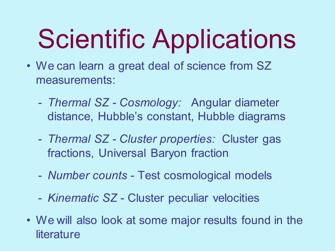 Scientific Applications