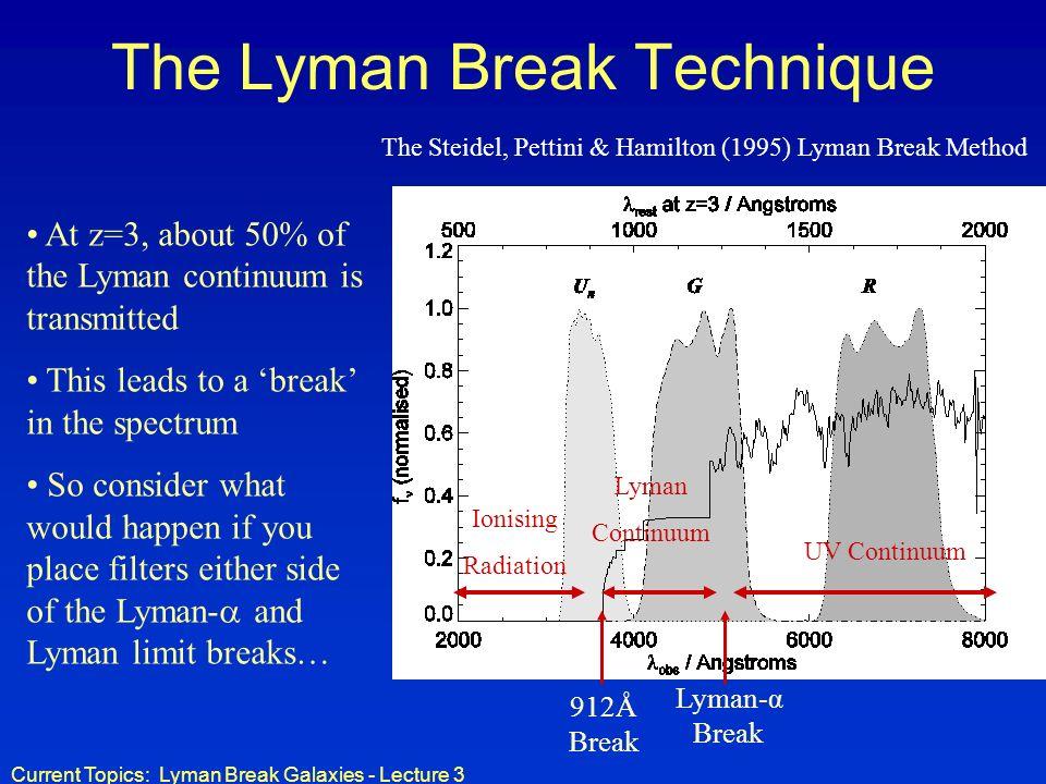 The Lyman Break Technique