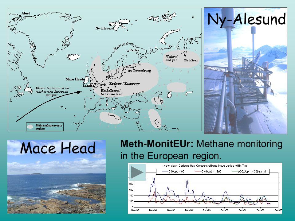 Ny-Alesund Mace Head Meth-MonitEUr: Methane monitoring in the European region.