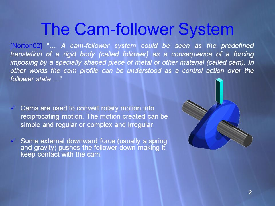 The Cam-follower System