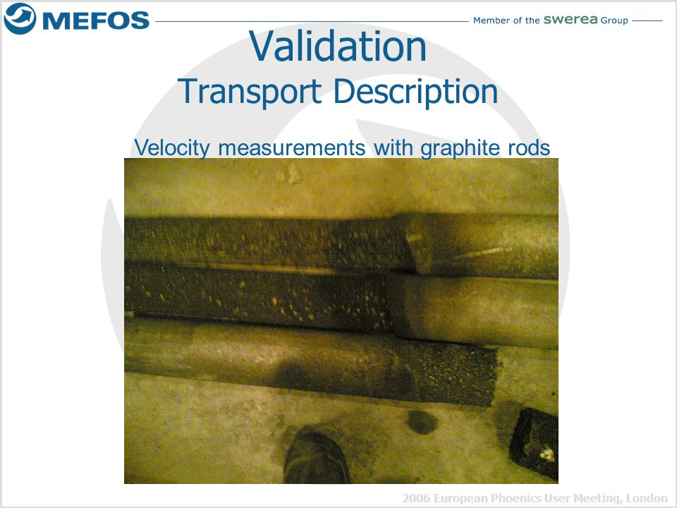 Validation Transport Description