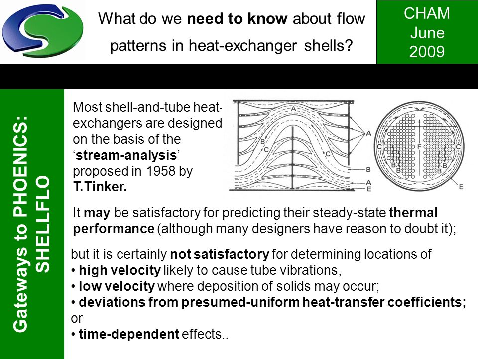What do we need to know about flow patterns in heat-exchanger shells