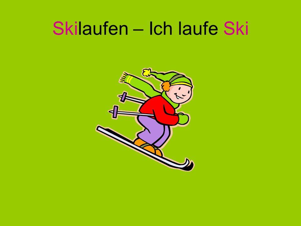 Skilaufen – Ich laufe Ski