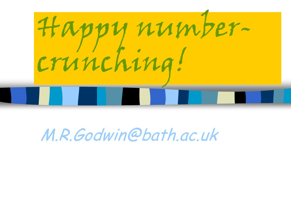 Happy number-crunching!