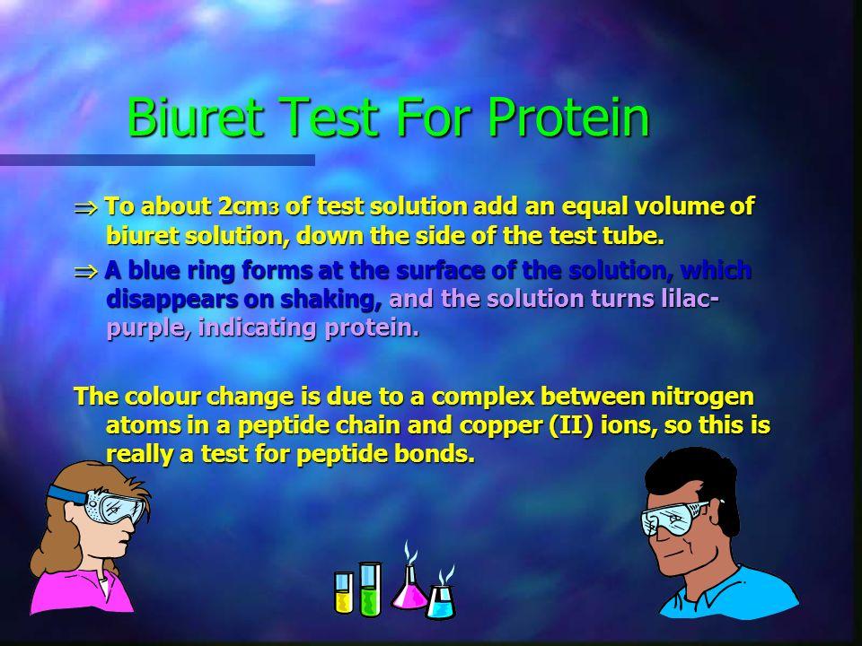 Biuret Test For Protein
