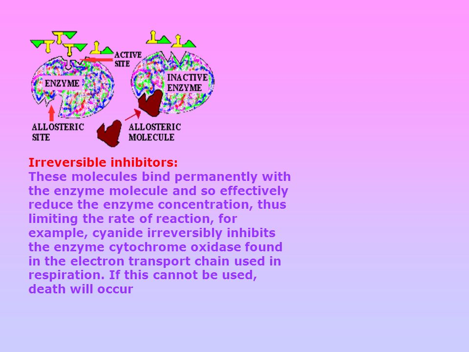 Irreversible inhibitors: