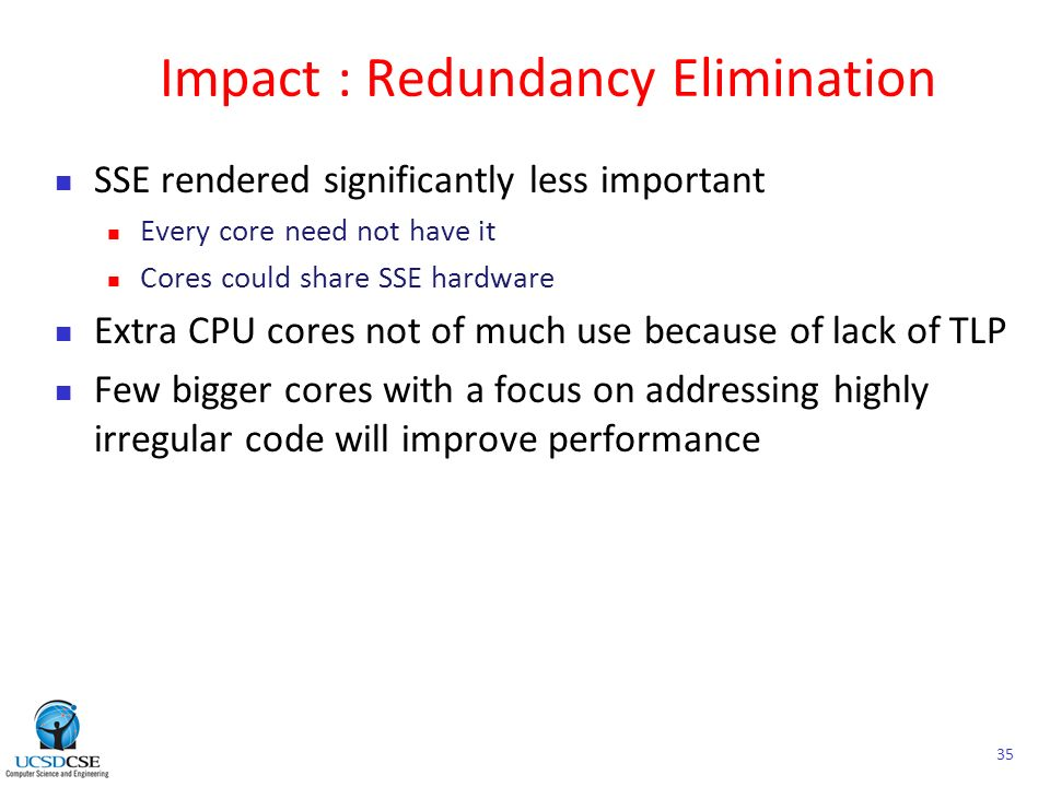 impact of redundancy The effects of redundancy can be either positive or negative, thus, most  apparently, there are different factors in the background of the diverse impacts.