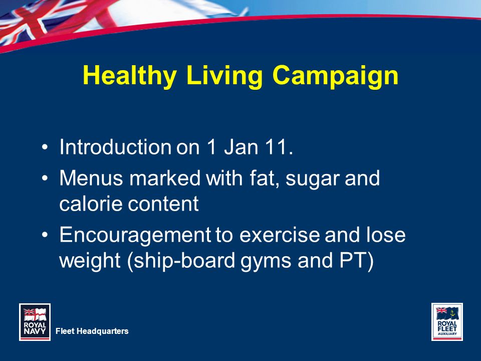 Healthy Living Campaign