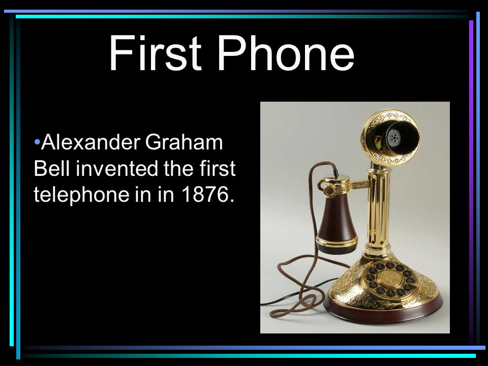 invention of the telephone The telephone is one of the greatest inventions ever, allowing instant voice  communication between people on different sides of the world.
