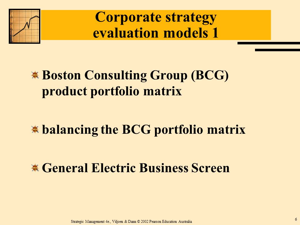 evaluating kodaks corporate strategy Porter suggested four generic business strategies that could be adopted in order to gain competitive advantage the strategies relate to the extent to which the scope of a business' activities are narrow versus broad and the extent to which a business seeks to differentiate its products.