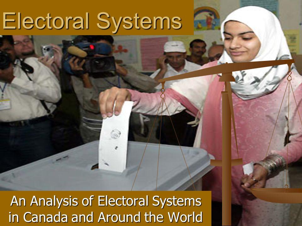 an analysis of the voting in canada Strategic voting in canada: a cross time analysis jennifer l merolla laura b stephenson duke university.
