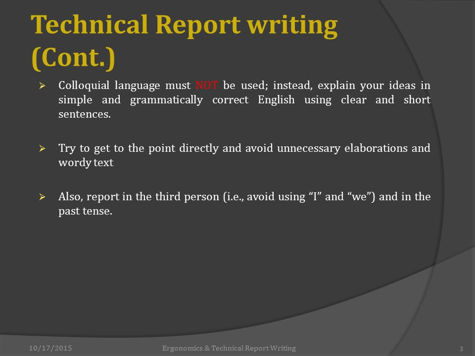 online technical report writing course Discover free online technical writing courses from top universities  technical  report writing for engineers via futurelearn 3 hours a week , 6 weeks long.