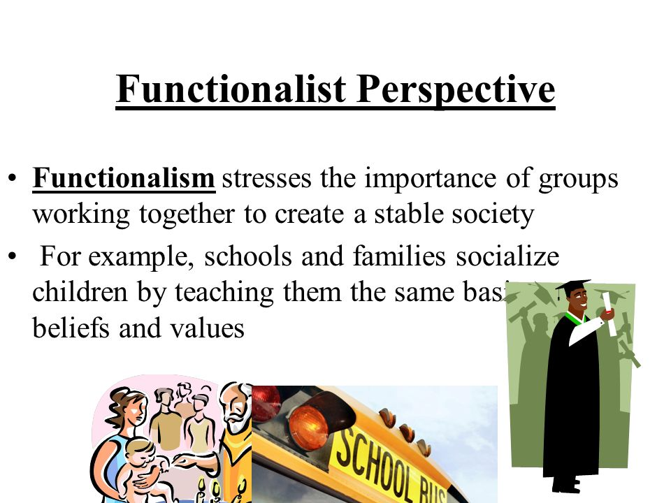 essay on functionalism view on family Free essay: assess the strengths and weaknesses of the functionalist view on society functionalism is a consensus perspective, whereby society is based on.